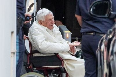Retired Pope Benedict hints at his death in condolence message