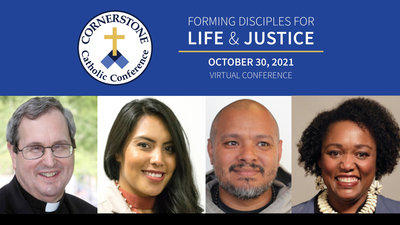 Social justice, life, environment among topics at virtual Cornerstone conference